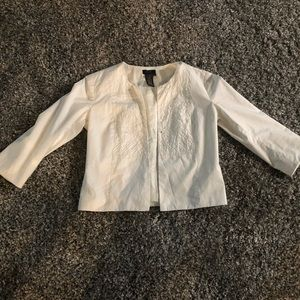 BCBG Maxazria collection open blazer/jacket